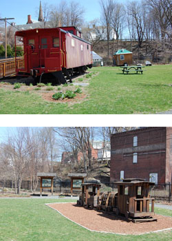 Energy Park Caboose & Play Structure